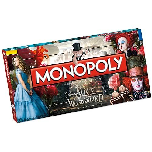 Alice in Wonderland Monopoly