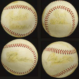 Beatles Baseballs