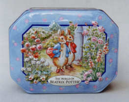 Beatrix Potter Tin