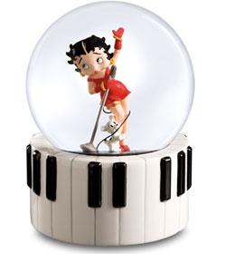 Betty Boop Water Globe
