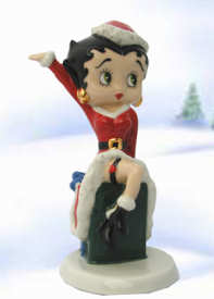 Wade Betty Boop Christmas Present