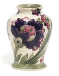 A William Moorcroft 'Persian' Miniature Pottery Vase