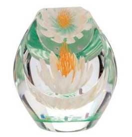 Caithness Glass Paperweight Floral Summers Day