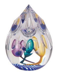 Caithness Glass Paperweight Magic Carpet