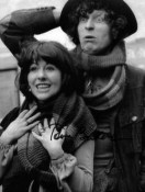 Tom Baker and Sarah Jane