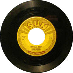 Elvis Single Record