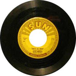 Elvis Single Record