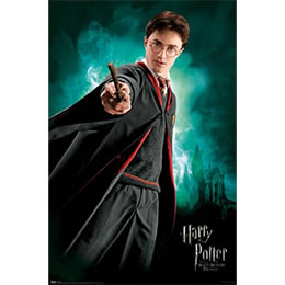 Harry Potter & the Half-Blood Prince: Harry Poster