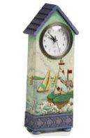 Jim Shore Coastal Scenery Clock