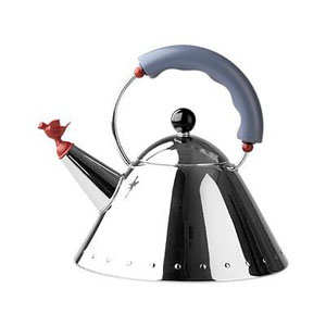 Kettle with a Bird shaped Whistle