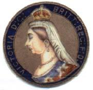 Enamel Coin