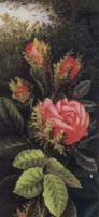 Victorian Christmas Cards Roses