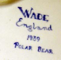 Wade Pottery Mark