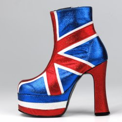 Union Jack Boot