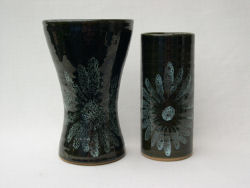 Lotus Pottery Vases