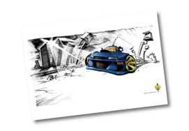 Speed Freaks Poster