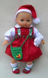 Chad Valley Christmas Doll