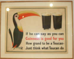 Guiness Toucan Poster