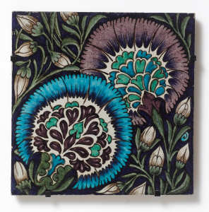 William De Morgan Persian Tile