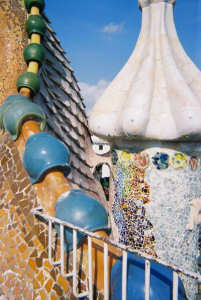Gaudi Dragon House