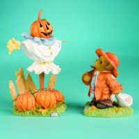 Cherished Teddies Collection HOBO/SCARECROW Figurine