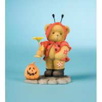Cherished Teddies Collection GIRL DRESSED/LADYBUG Figurine