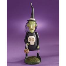 Janell Berryman WITCH W/SKULL DRESS Figurine