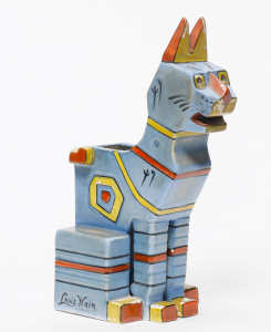 Louis Wain Cubist Cat