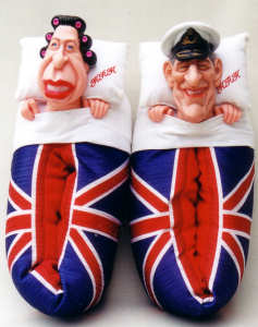 Spitting Image Royal Slippers