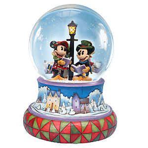 Disney Christmas Snow Globes.Disney Xmas Snow Globes