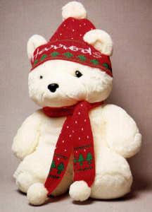 Christmas Bear.Harrods Christmas Bears
