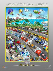 Museum Editions Dayton 500 Poster