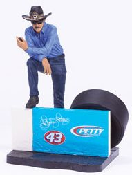 Richard Petty figurine from Action McFarlane