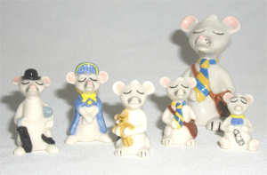 Wade Town Mouse Whimsies