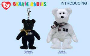 Two new UK Exclusive Ty Beanie Babies