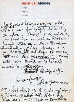 """John Lennon – """"It wasn't a rip off, it was a love-in"""""""