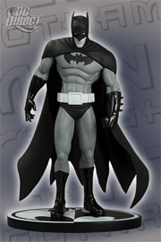 Batman Black And White: Special Edition: Batman: Gotham Knight Statue