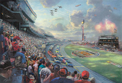 NASCAR® THUNDER by Thomas Kinkade