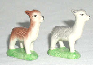 Pair of Alpaca Whimsies
