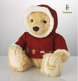 Maxwell the Harrods Chritsmas Bear 2009