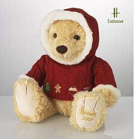 Maxwell the Harrods Chritsmas Bear 2009