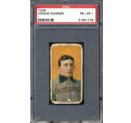 1909-1911 T206 Honus Wagner – The Connecticut Wagner
