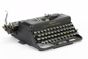 John Lennon Typewriter