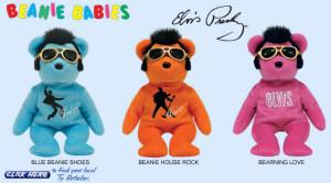 Elvis Presley Beanie Babies