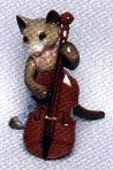 Cat w/Fiddle