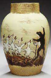 Maria Longworth Nichols and Albert R. Valentien for Rookwood Earthenware Vase