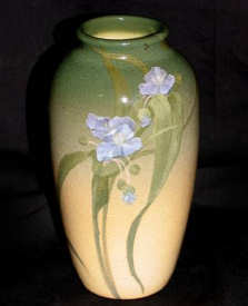 A Rookwood 'Iris' glaze ceramic vase