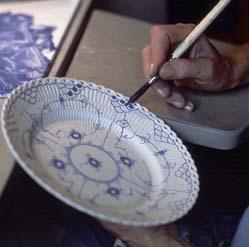 Royal Copenhagen Blue Fluted Craftsmanship