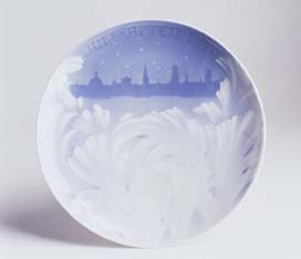 Royal Copenhagen Christmas Plate 1895
