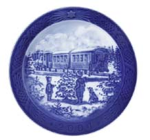 Royal Copenhagen Christmas Plate 1895